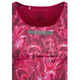 GORE RUNNING WEAR AIR PRINT - Débardeur running Femme - rose